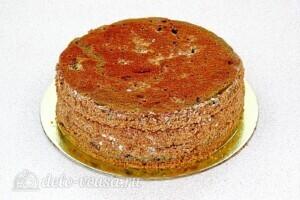 Торт Утреннее вдохновение: фото к шагу 12.