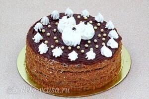 Торт Утреннее вдохновение: фото к шагу 13.