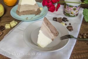 Творожная пасха Три шоколада: фото к шагу 10.