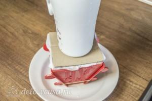 Творожная пасха Три шоколада: фото к шагу 9.