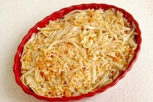 Яблочный макаронник: фото к шагу 5.