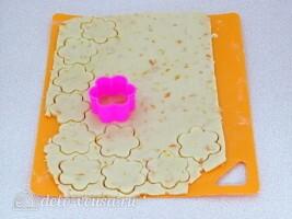 Апельсиновое песочное печенье: фото к шагу 4.