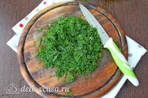 Болгарский суп Таратор с грецкими орехами: фото к шагу 4.