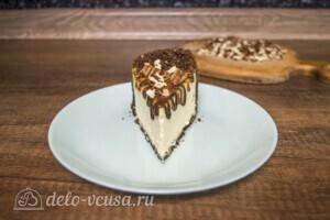 Чизкейк Нью-Йорк с шоколадом и орехом пекан: фото к шагу 8.