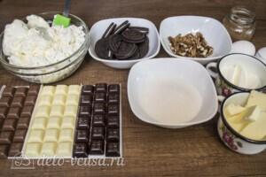 Чизкейк Три шоколада: Ингредиенты