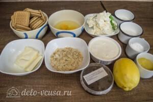 Ананасовый чизкейк: Ингредиенты