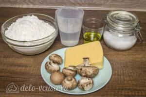 Янтык с грибами и сыром: Ингредиенты