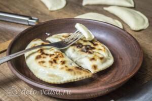 Янтык с грибами и сыром: фото к шагу 9.