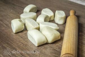 Янтык с грибами и сыром: фото к шагу 5.