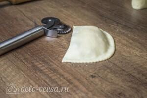 Янтык с грибами и сыром: фото к шагу 7.
