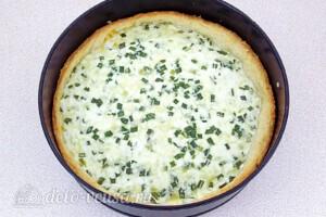 Пирог с зернёным творогом и сыром: фото к шагу 11