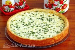 Пирог с зернёным творогом и сыром: фото к шагу 13