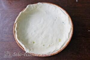 Пирог с рикоттой и овощами гриль: фото к шагу 2.