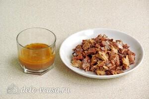 Быстрый салат из сайры с маслинами: фото к шагу 1
