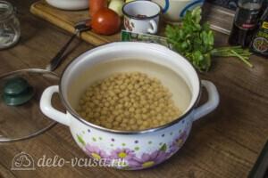 Суп с фрикадельками и нутом: фото к шагу 1.