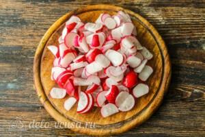 Теплый салат с молодым картофелем и спаржей: фото к шагу 3.