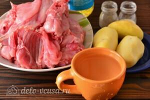 Жаркое из кролика с картошкой в мультиварке: Ингредиенты
