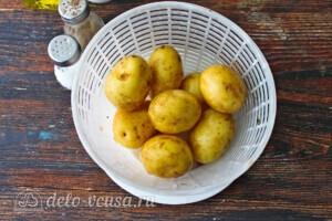 Запеченный молодой картофель со спаржей: фото к шагу 1.