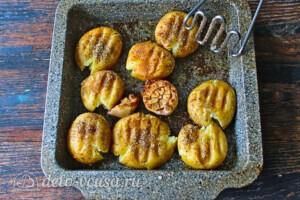 Запеченный молодой картофель со спаржей: фото к шагу 4.