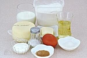 Домашние хачапури по-мегрельски: Ингредиенты