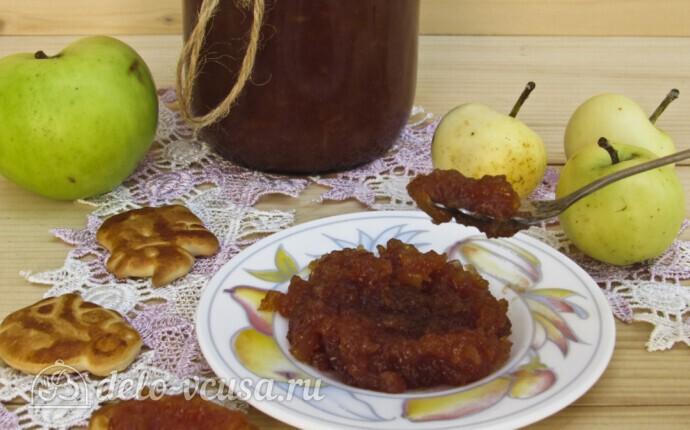 Яблочное повидло с корицей в хлебопечке