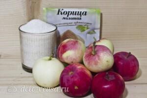 Яблочное повидло с корицей в хлебопечке: Ингредиенты