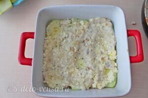 Низкокалорийная лазанья из кабачков с курицей: фото к шагу 12.