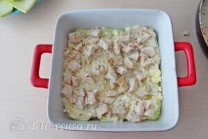 Низкокалорийная лазанья из кабачков с курицей: фото к шагу 13.