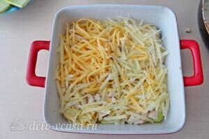 Низкокалорийная лазанья из кабачков с курицей: фото к шагу 14.