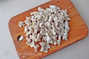 Низкокалорийная лазанья из кабачков с курицей: фото к шагу 2.