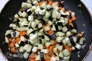 Лобио с овощами по-летнему: фото к шагу 6.