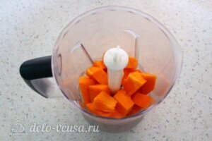 Манник с тыквой и лимонным сиропом без муки и яиц: фото к шагу 1.