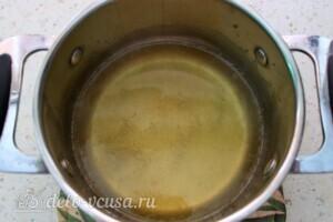 Манник с тыквой и лимонным сиропом без муки и яиц: фото к шагу 6.