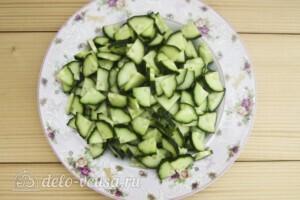 Низкокалорийная окрошка без картошки: фото к шагу 1