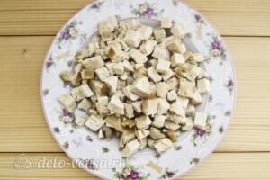 Низкокалорийная окрошка без картошки: фото к шагу 6