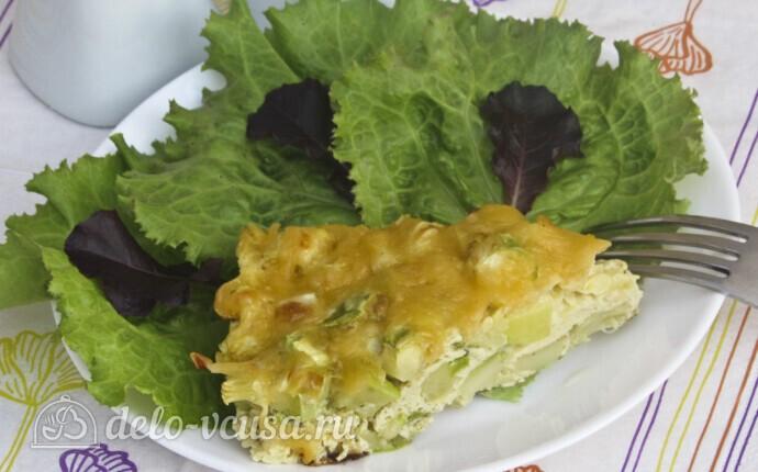 Рецепт низкокалорийная запеканка из кабачков