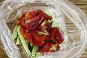 Низкокалорийный малосольный салат: фото к шагу 3.