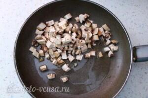 Низкокалорийный овощной суп с шампиньонами: фото к шагу 2.
