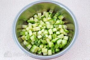 Овощи тушеные в сметане в микроволновке: фото к шагу 1.