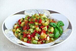Рагу из овощей по-сербски в микроволновке: фото к шагу 12.