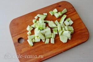Суп-пюре из чечевицы с овощами: фото к шагу 3.