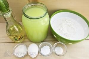 Тонкие ажурные блины на сыворотке: Ингредиенты