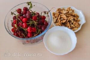 Варенье из вишни с грецкими орехами: Ингредиенты