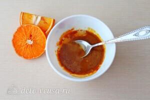 Цыпленок запеченный в апельсинах с вишневым соусом: фото к шагу 2