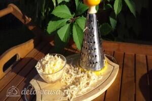 Жульен из белых грибов со сметаной: фото к шагу 5.