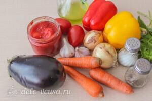 Домашний аджапсандали: Ингредиенты