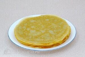 Блины на берёзовом соке без яиц: фото к шагу 6.