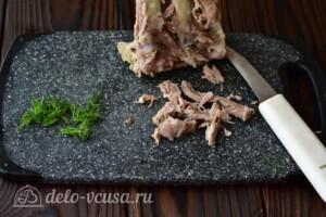 Наваристый бульон из свиных ребрышек: фото к шагу 5.