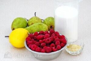 Джем из груш и малины: Ингредиенты