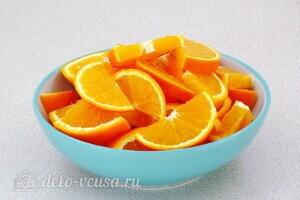 Джем из красной смородины с апельсином: фото к шагу 3